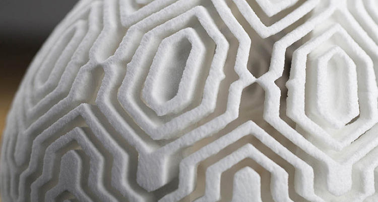 <p>Architect couple Liz and Kyle von Hasseln found a new and tasty way to use a 3-D printer. They design and print complex geometric sugar sculptures, what they call &quot;food ornament.&quot;</p>