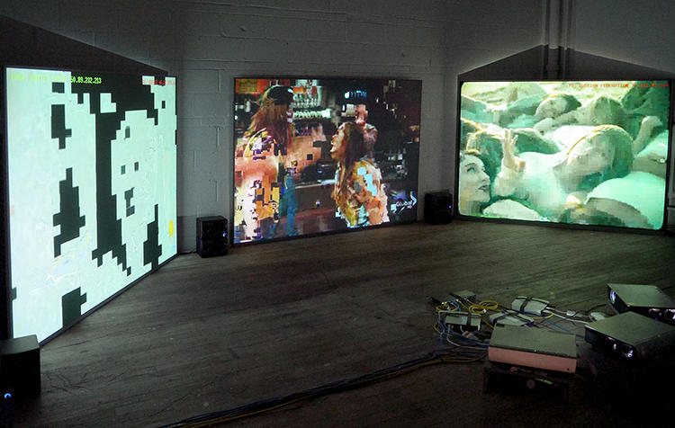 <p>It offers viewers a continuous, fragmentary overview of peer-to-peer activity transpiring on the web at a given moment.</p>