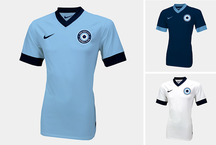 <p>At the announcement ceremony, the new team's owners, Manchester City FC and the New York Yankees, didn't reveal the NYC FC's logo. The lack of visual identity inspired several designers to propose their own unsolicited designs.</p>