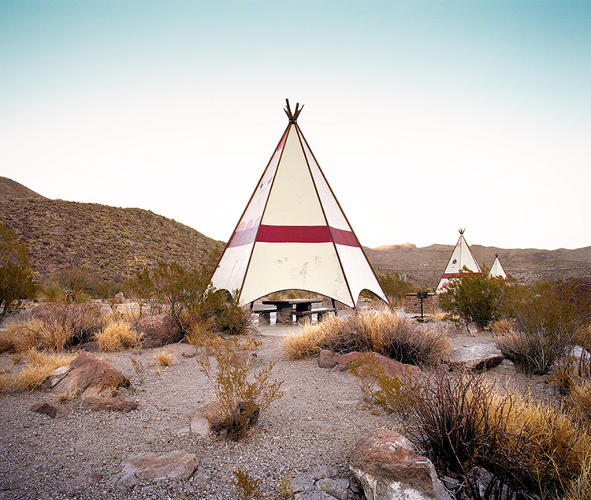 <p>The rest stops range from minimalist architecture to charm that borders on kitsch, like the teepees found in west Texas.</p>