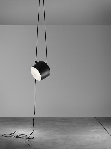 "<p>In a commentary on the lights, designer <a href=&quot;http://www.domusacademy.com/site/home/alumni/success-stories/articolo2605.html&quot; target=&quot;_blank&quot;>Marco Romanelli</a> points out how the cables make Aim more a piece of art than just hardware: ""The actual reflector is, after all, less important, simply a fruit hanging from any one of the cables. Aim is therefore not just a lamp, but an installation in a nutshell.""</p>"