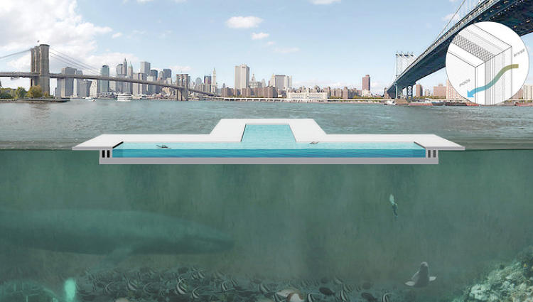 <p>The founders behind + Pool, New York's first floating pool, ask what if New Yorkers could cool off in the river.</p>