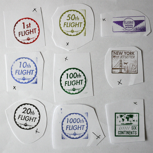 <p>Users can earn &quot;stamps&quot; for achievements. The &quot;stamps&quot; were actually designed by hand, to mimic the inky goodness of the real life versions on your actual passport.</p>