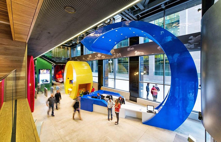 <p>Designed by architecture firm Camenzind Evolution, Google Docks consists of 14 floors of offices, each one different than the other.</p>