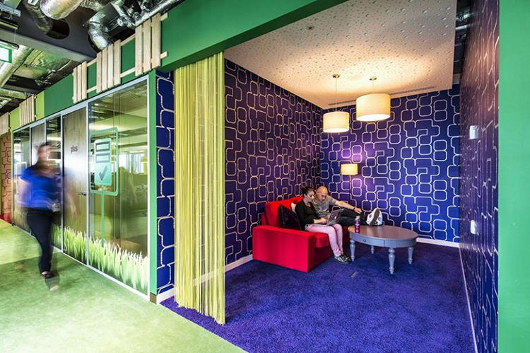 <p>There are 14 themed floors including &quot;SEARCH,&quot; &quot;GREEN,&quot; &quot;@HOME,&quot; &quot;CREATE,&quot; &quot;ORGANIZE,&quot; and &quot;INNOVATE.&quot;</p>