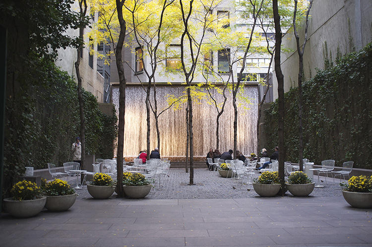 <p>To celebrate the MoMA's summer of architecture, the museum teamed up with Foursquare to create an architectural scavenger hunt of New York City.</p>  <p>Photo: Aleksandr Zykov</p>