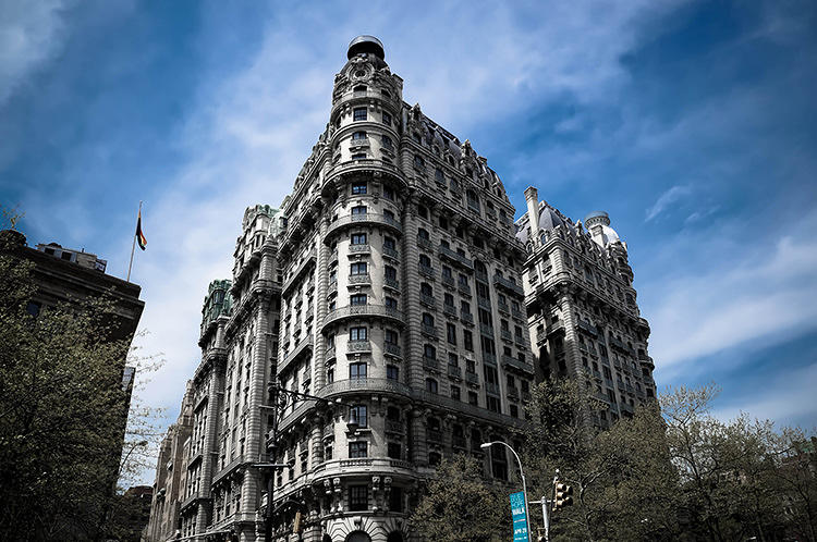 <p>New York is not usually seen as a great city for architecture.</p>  <p>Above, the Ansonia Hotel. Photo: Jeffrey Zeldman</p>