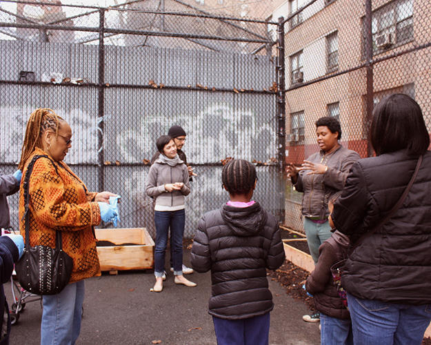 <p>Keller and Blenkin want to discover the best way to incentivize for composting, so they'll continue to experiment with outreach materials--to tell the story of food waste and economics in urban areas.</p>