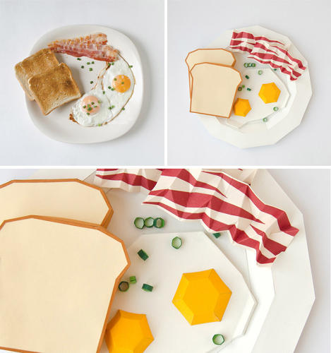 <p>Lithuanian design studio <a href=&quot;http://www.primprim.lt/13769/galerija-gallery&quot; target=&quot;_blank&quot;>Prim Prim</a> decided to imagine classic typefaces as their mealtime soulmates. Times, seen here, is a traditional English breakfast, meant to go with the morning newspaper.</p>