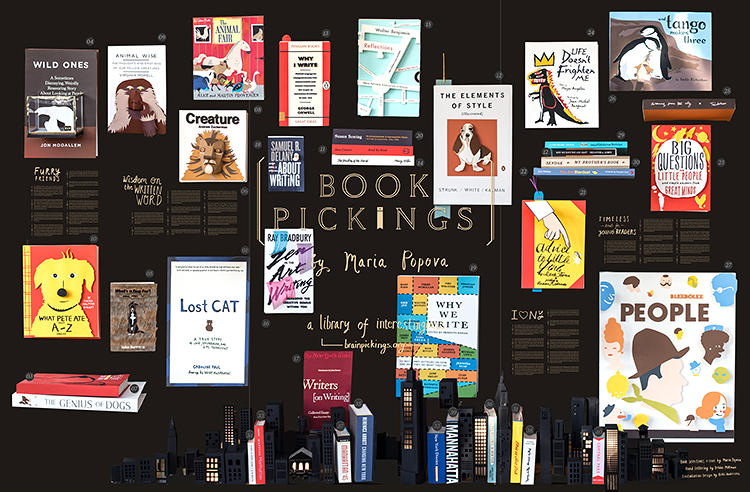 <p>Kelli Anderson's &quot;Big Books Made Out of Paper&quot; reimagines the covers of 40 classic books as 3-D collages. The books were chosen by Brain Pickings blogger Maria Popova, her best-of lists for the New York Public Library, brought to life.</p>