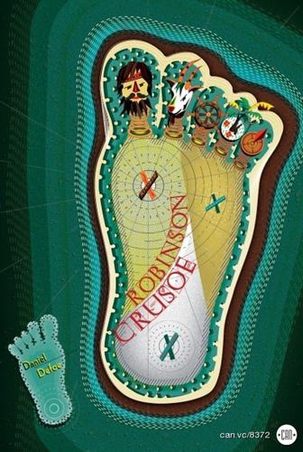 <p><em>Robinson Crusoe</em> makes a wonderful foot map.  - Rade Design</p>