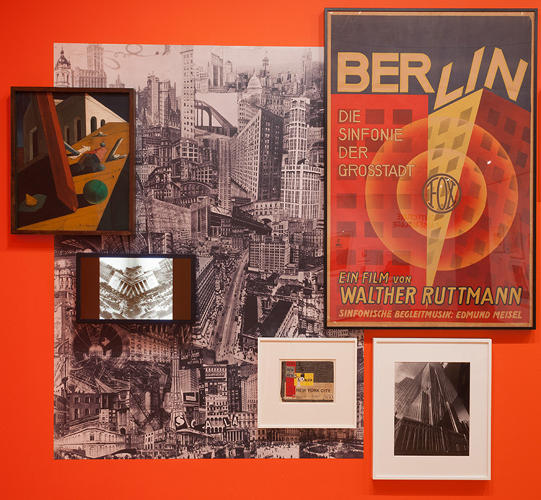 <p>A panoply of art objects, like paintings and posters--another iteration of collage--also make a showing.</p>  <p>Photo: Thomas Griesel</p>