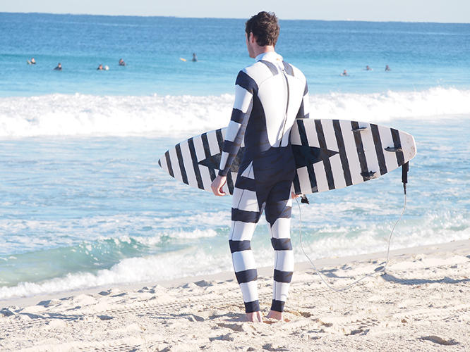 <p>Shark Attack Mitigation Systems (SAMS) is a company in Perth, Australia, that has developed a line of wetsuits and surfboards that could prevent shark attacks.</p>