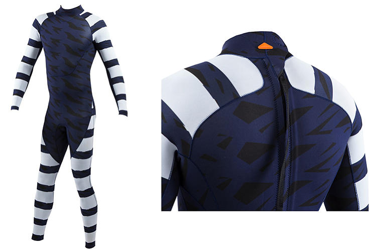 <p>The &quot;Warning Swimmer&quot; uses an opposite tactic: High contrasting stripes confuse depth perception and keep the shark from engaging and attacking. The wetsuits will cost $495, and can be seen <strong><a href=&quot;http://www.sharkmitigation.com/&quot; target=&quot;_blank&quot;>here</a></strong>.</p>