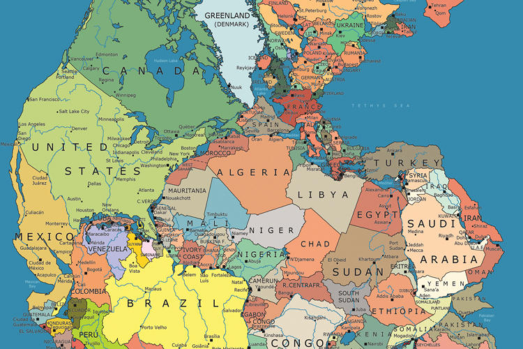 <p>But the idea that Europe and the U.S. were once each smashed side-by-side with Africa is interesting to contemplate.</p>