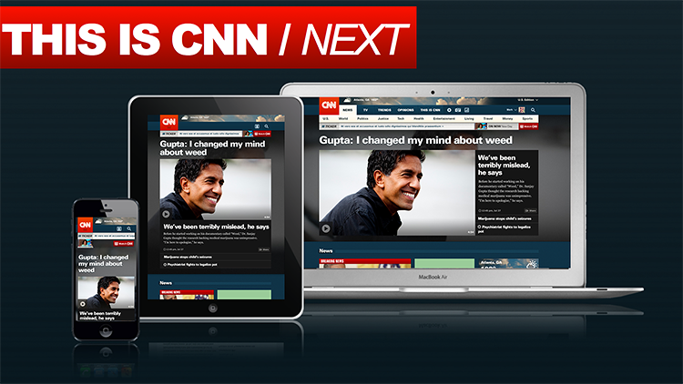 <p>CNN.com has been redesigned to better translate from desktop to tablet to smartphone.</p>