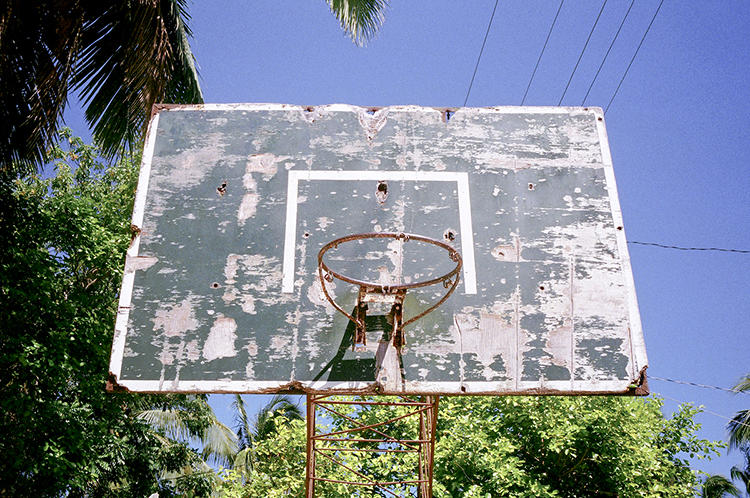 <p>That sums up photographer Adrian Skenderovic's &quot;Lost Hoops&quot; series, which documents seemingly unused, unloved basketball posts.</p>