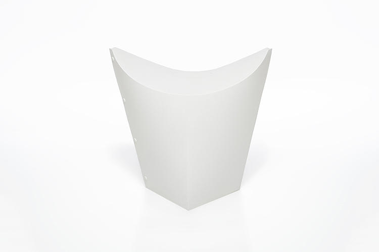 <p>This stool doubles as a moving box, and it features what appears to be a collapsible design.</p>