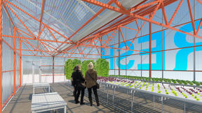 A Pop-Up Greenhouse Could Bring Farm-Fresh Food To Food Deserts