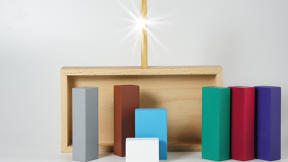 Sign Of The Times: A Minimal Nativity Scene For A More Secular Xmas