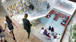 Jeanne Gang To Build Dorm That's Googleplex-Meets-Hogwarts