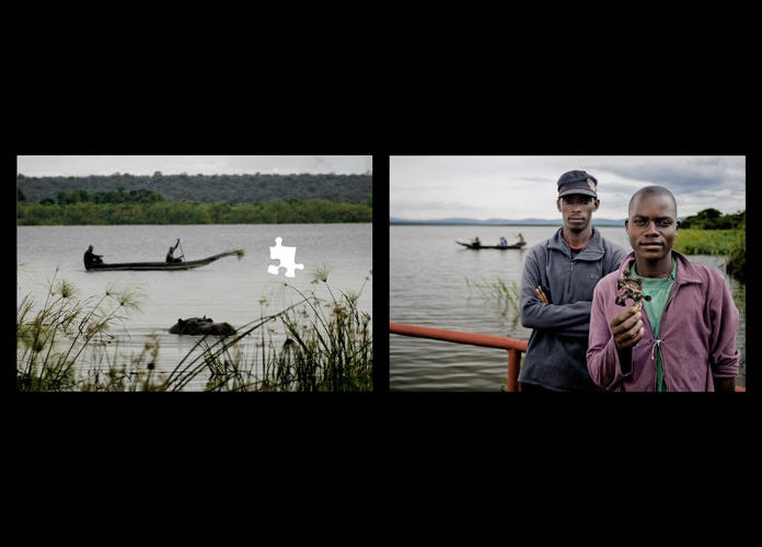 <p>This collection of photos (there are six in total) features residents of Rwanda holding puzzle pieces--highlighting how we all hold a piece of the puzzle to keeping biodiversity alive.</p>
