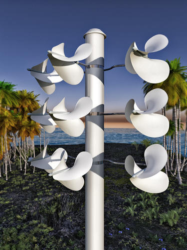 <p>The Windstrument is a new wind energy system that's &quot;quiet and powerful, bird safe, and scalable.&quot;</p>