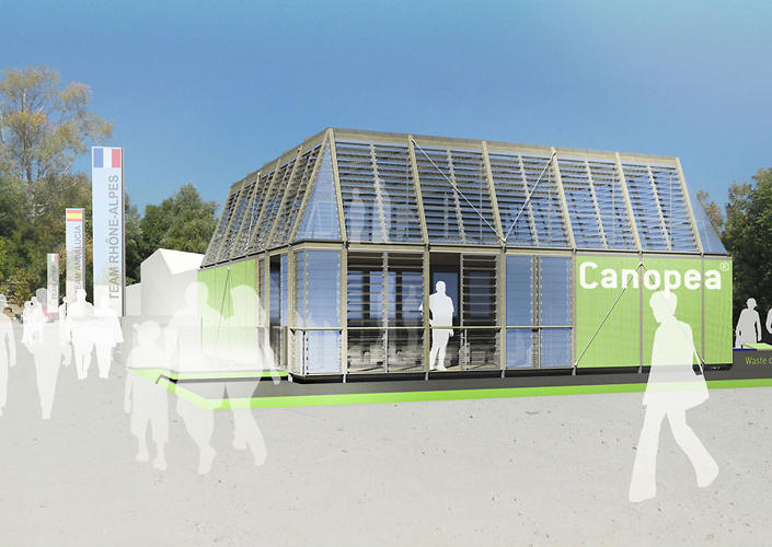 <p>Canopea won this year's European Solar Decathlon.</p>