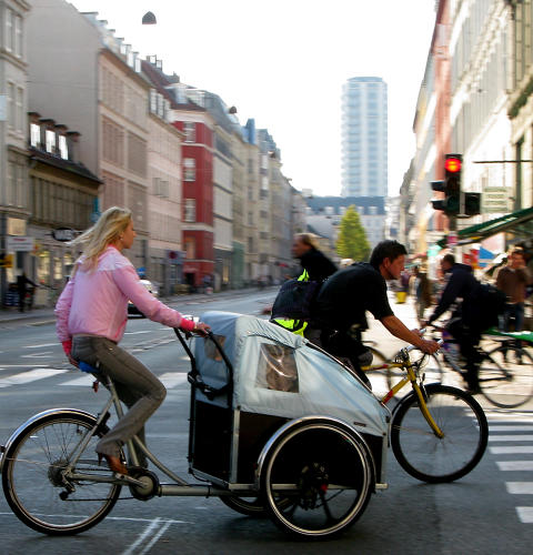 <p>Many European cities have space limitations, and tough rules on pollution and carbon emissions. In these cities, bikes are a cleaner, more effective way of delivering small items.</p>