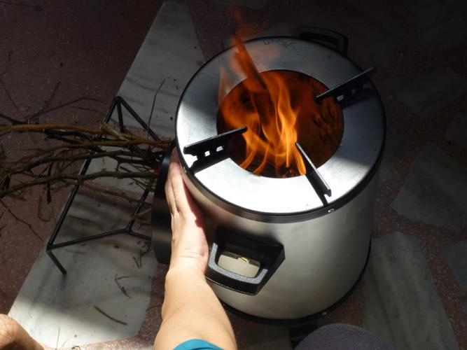 Wolf stove model r304