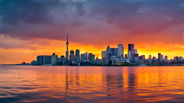 <p>7: <a href=&quot;http://www.shutterstock.com/cat.mhtml?lang=en&amp;search_source=search_form&amp;version=llv1&amp;anyorall=all&amp;safesearch=1&amp;searchterm=toronto+skyline&amp;search_group=#id=104089748&amp;src=b8fa89476374a8de3ca14b77fcef6e7e-1-4&quot; target=&quot;_blank&quot;>Toronto</a></p>