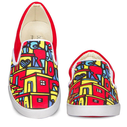 <p>The shoes you find in the shoe store are so boring. The <a href=&quot;http://www.fastcoexist.com/1680395/a-global-street-art-collective-makes-art-you-can-wear-on-your-feet#&quot; target=&quot;_self&quot;>designs on Aaron Firestein and Raaja Nemani's Bucketfeet canvas sneakers come from street artists all over the world</a>, giving those artists a reliable source of income and giving you unique stylish kicks that everyone will ask about.</p>