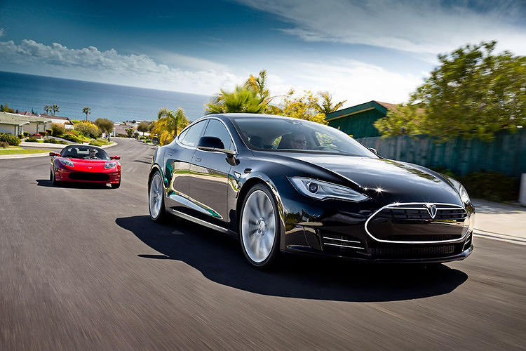 <p>It's here. The new Tesla--much more affordable than the electric vehicle startup's first offering--made its debut. <a href=&quot;http://www.fastcoexist.com/1680069/inside-the-tesla-model-s&quot; target=&quot;_self&quot;>Here's a report</a> from the test drive.</p>