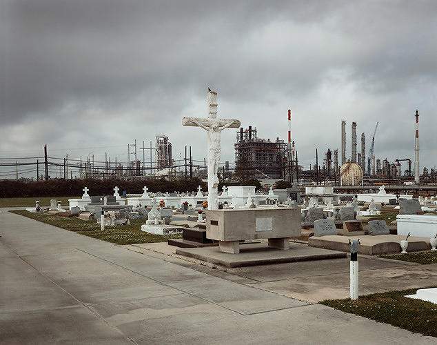<p>The book <em>Petrochemical America</em> documents <a href=&quot;http://www.fastcoexist.com/1680961/fascinating-infographics-and-gorgeous-photos-document-our-deadly-chemical-industry&quot; target=&quot;_self&quot;>what's happened to the part of the Mississippi River that is now known as Cancer Alley.</a></p>