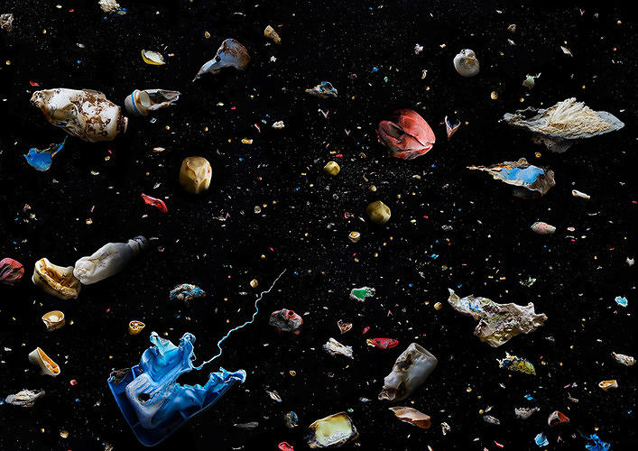 <p><em>Soup</em> is a photo series that <a href=&quot;http://www.fastcoexist.com/1679333/beautiful-photos-of-the-oceans-deadly-plastic&quot; target=&quot;_self&quot;>documents the millions of tiny pieces of plastic floating in our oceans</a>. Pollution has never looked so pretty.</p>