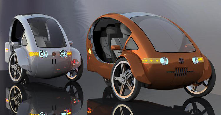 Elf Electric Bicycle Car
