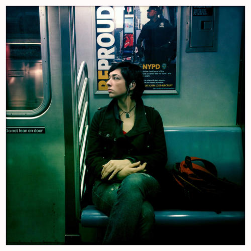 <p>Working as a video journalist for the <em>New York Daily News</em>, Davis began documenting commuters while she herself was traversing the five boroughs for different stories.</p>