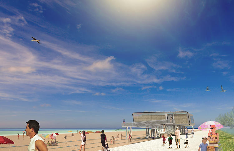 <p>Better lifeguard stations are nice, but their design could also help lay new groundwork for the way that cities respond to climate change-related disasters in the future.</p>