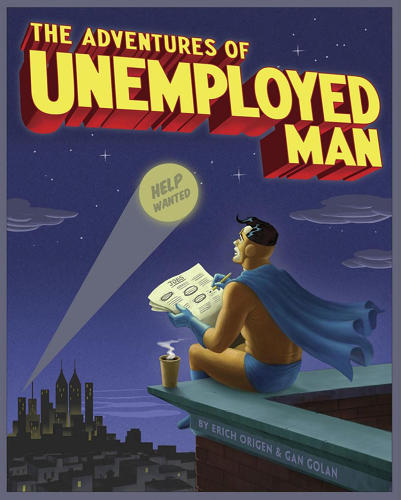 <p><em>Unemployed Man</em>, a book about the jobs crisis.</p>