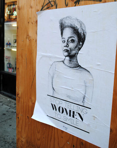 <p>Researchers estimate that at least 80% of women around the world experience some form street harassment at some point in their lives.</p>