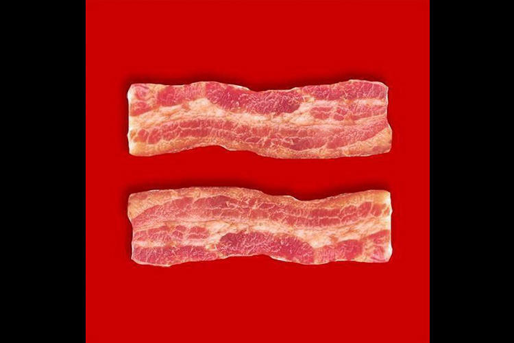 <p>Bacon for marriage equality.</p>