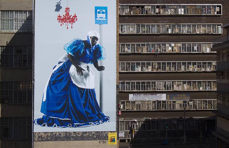 <p>Perkes's plan, for which she has already raised about $5 million, involves redecorating Hillbrow Tower a legacy of apartheid that sits unused and unloved in the middle of a poor area.</p>