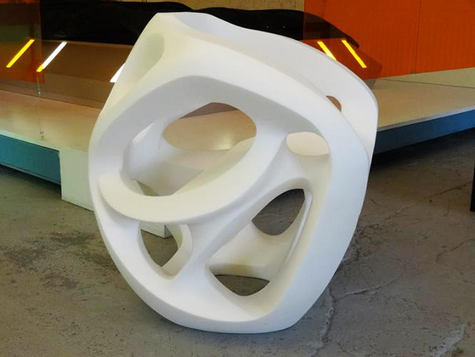 <p>Carl de Smet's smart foam chairs assemble themselves from squished to sit-able, as soon as you take them out of the box. Keep clicking to see the process in action.</p>