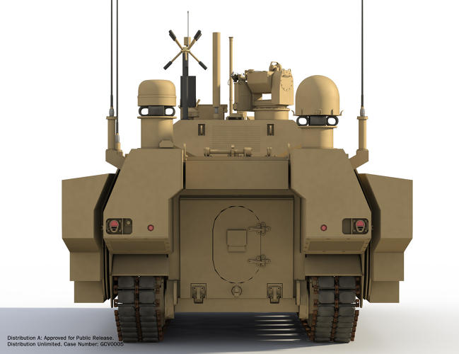 <p>The vehicle works as a tank once a few basic accessories are added.</p>