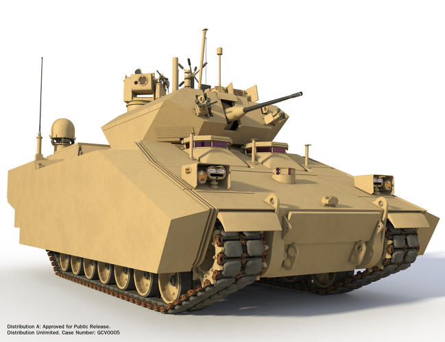 <p>The tanks can also switch to pure electric mode for short periods of time. This would eliminate significant heat traces from the battlefield and lets the tank operate much more quietly at night.</p>