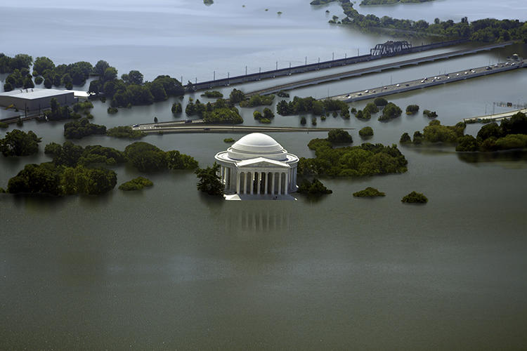 <p>And here with 25 feet of sea level rise.</p>