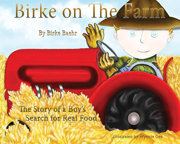 <p>He's the author of <em>Birke on the Farm: One Boy's Quest for Real Food</em>.</p>