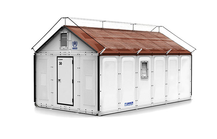 <p>In July, Ikea Foundation and the United Nations High Commissioner for Refugees (UNCHR) will roll out this new shelter for refugees.</p>