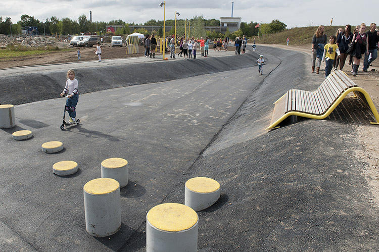 <p>The Roskilde City sewage department funded the bulk of the Rabalder parken project.</p>