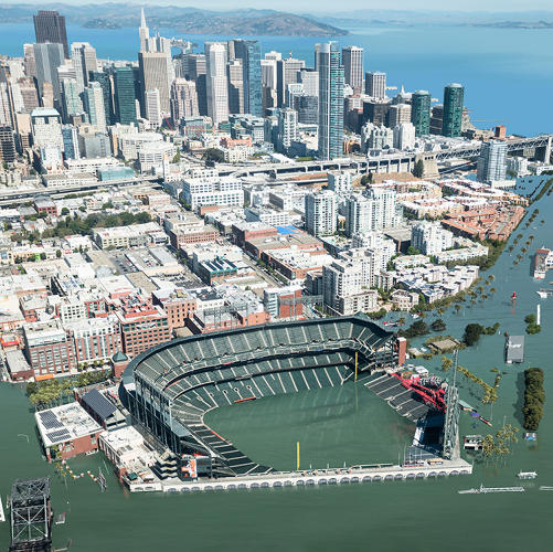 <p>With 12-foot sea level rise.</p>